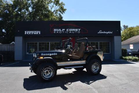 1983 Jeep CJ-7 for sale at Gulf Coast Exotic Auto in Biloxi MS