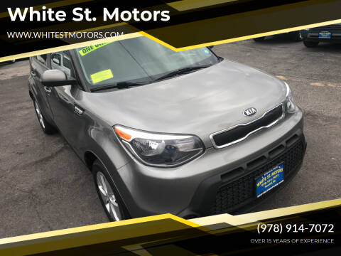 2016 Kia Soul for sale at White St. Motors in Haverhill MA