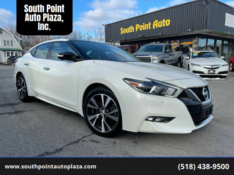 2018 Nissan Maxima for sale at South Point Auto Plaza, Inc. in Albany NY