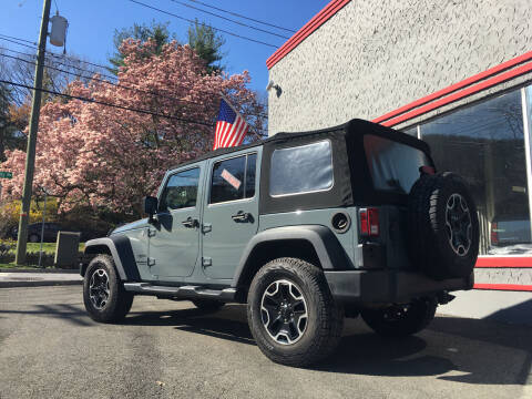 2014 Jeep Wrangler Unlimited for sale at Street Dreams Auto Inc. in Highland Falls NY