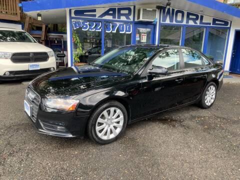 2013 Audi A4 for sale at Car World Inc in Arlington VA