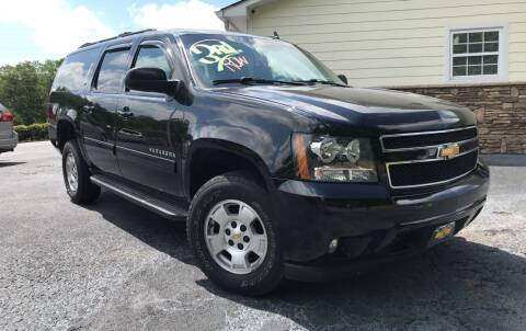 2012 Chevrolet Suburban for sale at No Full Coverage Auto Sales in Austell GA