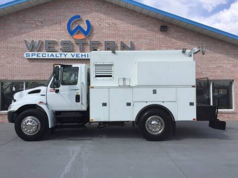 2012 International 4300 for sale at Western Specialty Vehicle Sales in Braidwood IL