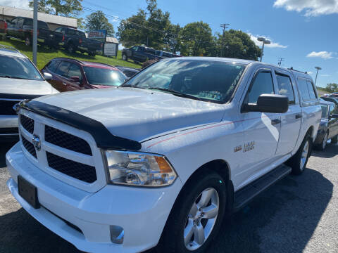 2014 RAM Ram Pickup 1500 for sale at Ball Pre-owned Auto in Terra Alta WV