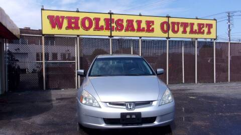 2005 Honda Accord for sale at LONG BROTHERS CAR COMPANY in Cleveland OH