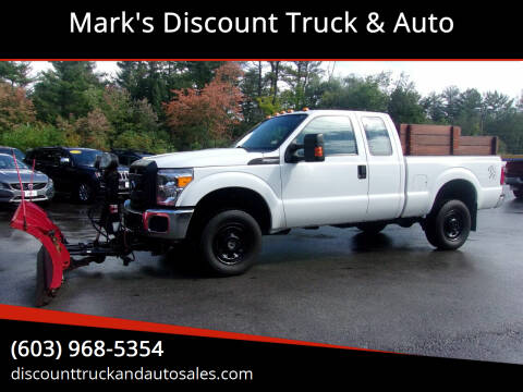 2016 Ford F-250 Super Duty for sale at Mark's Discount Truck & Auto in Londonderry NH