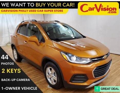 2017 Chevrolet Trax for sale at Car Vision Mitsubishi Norristown - Car Vision Philly Used Car SuperStore in Philadelphia PA
