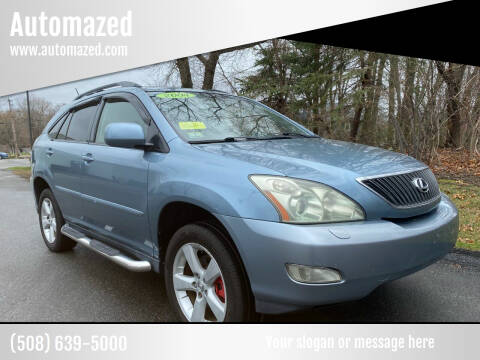 2004 Lexus RX 330 for sale at Automazed in Attleboro MA