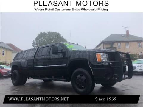 2014 GMC Sierra 3500HD for sale at Pleasant Motors in New Bedford MA