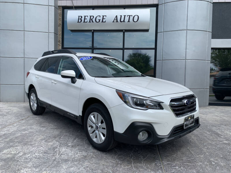 2019 Subaru Outback for sale at Berge Auto in Orem UT
