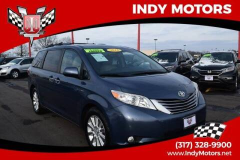 2016 Toyota Sienna for sale at Indy Motors Inc in Indianapolis IN