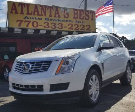 2015 Cadillac SRX for sale at Atlanta's Best Auto Brokers in Marietta GA