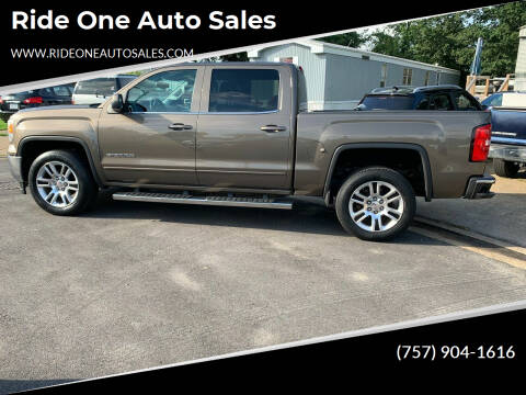 2014 GMC Sierra 1500 for sale at Ride One Auto Sales in Norfolk VA