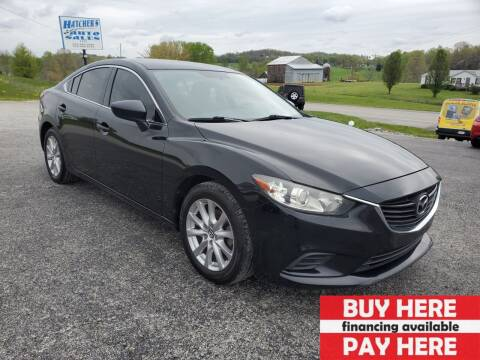 2014 Mazda MAZDA6 for sale at Hatcher's Auto Sales, LLC in Campbellsville KY