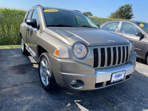 2008 Jeep Compass for sale at Alan Browne Chevy in Genoa IL