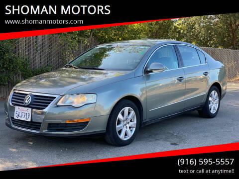 2006 Volkswagen Passat for sale at SHOMAN MOTORS in Davis CA