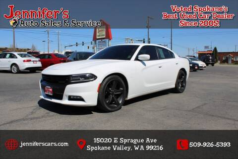 2017 Dodge Charger for sale at Jennifer's Auto Sales in Spokane Valley WA