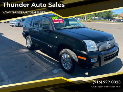 2009 Mercury Mountaineer for sale at Thunder Auto Sales in Sacramento CA
