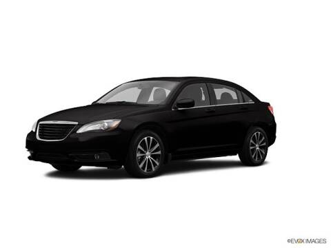 2013 Chrysler 200 for sale at CHAPARRAL USED CARS in Piney Flats TN