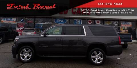 2016 Chevrolet Suburban for sale at Ford Road Motor Sales in Dearborn MI