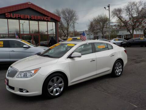2011 Buick LaCrosse for sale at Super Service Used Cars in Milwaukee WI