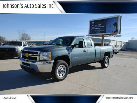 2013 Chevrolet Silverado 3500HD for sale at Johnson's Auto Sales Inc. in Decatur IN