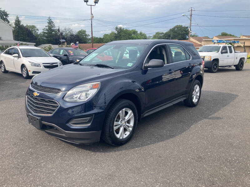 2017 Chevrolet Equinox for sale at Majestic Automotive Group in Cinnaminson NJ