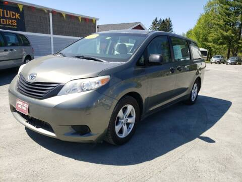 2011 Toyota Sienna for sale at Shattuck Motors in Newport VT