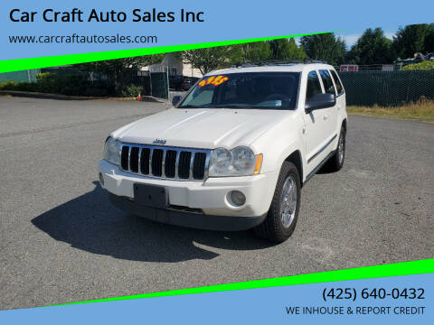 2005 Jeep Grand Cherokee for sale at Car Craft Auto Sales Inc in Lynnwood WA