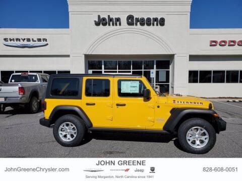 2021 Jeep Wrangler Unlimited for sale at John Greene Chrysler Dodge Jeep Ram in Morganton NC