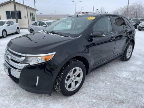 2013 Ford Edge for sale at CHRISTIAN AUTO SALES in Anoka MN