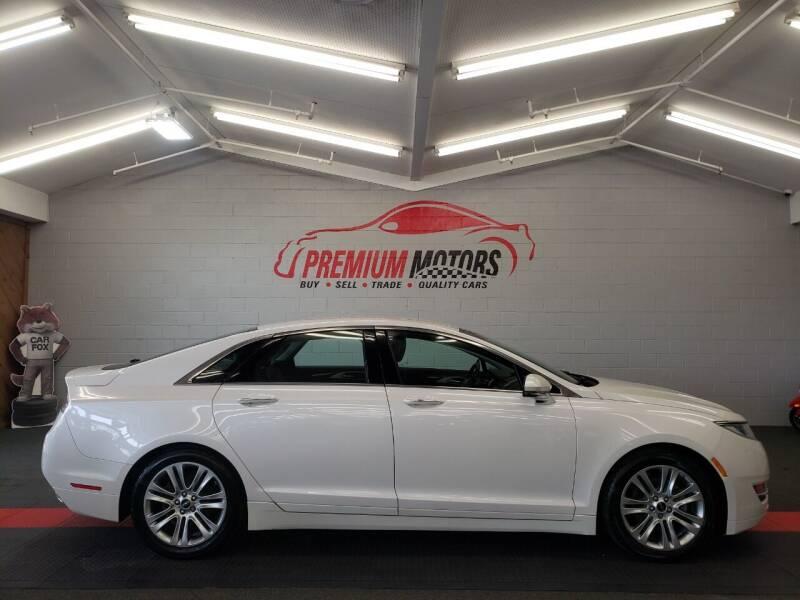 2014 Lincoln MKZ Hybrid for sale at Premium Motors in Villa Park IL