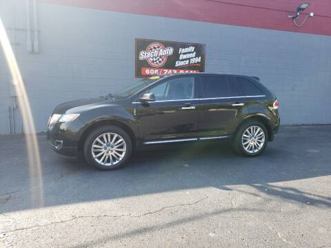 2013 Lincoln MKX for sale at Stach Auto in Janesville WI