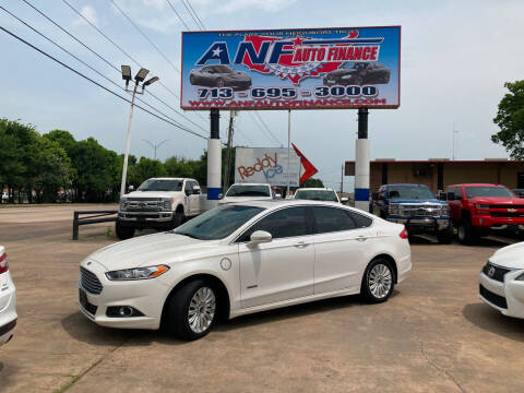 2014 Ford Fusion Energi for sale at ANF AUTO FINANCE in Houston TX