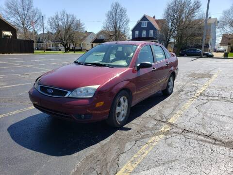 2006 Ford Focus for sale at USA AUTO WHOLESALE LLC in Cleveland OH