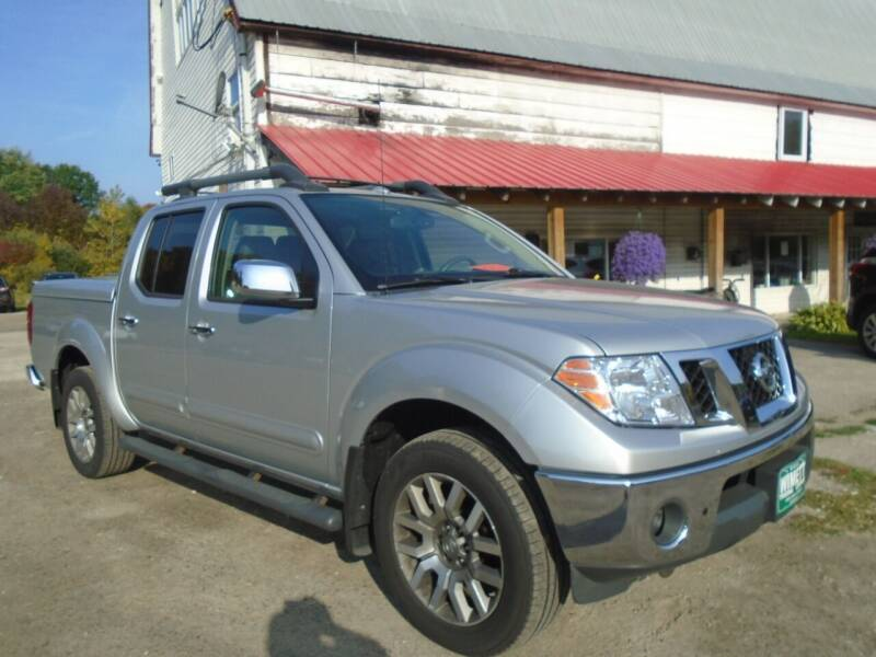 2012 Nissan Frontier for sale at Wimett Trading Company in Leicester VT
