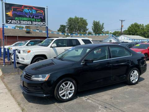 2017 Volkswagen Jetta for sale at AWD Denver Automotive LLC in Englewood CO