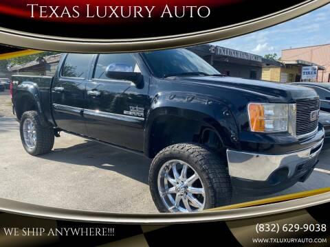 2012 GMC Sierra 1500 for sale at Texas Luxury Auto in Houston TX