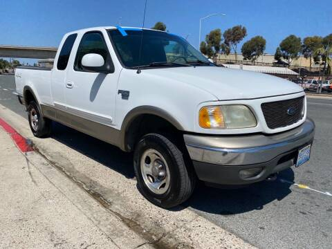 2002 Ford F-150 for sale at Beyer Enterprise in San Ysidro CA