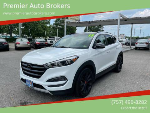 2017 Hyundai Tucson for sale at Premier Auto Brokers in Virginia Beach VA