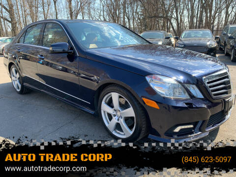 2010 Mercedes-Benz E-Class for sale at AUTO TRADE CORP in Nanuet NY