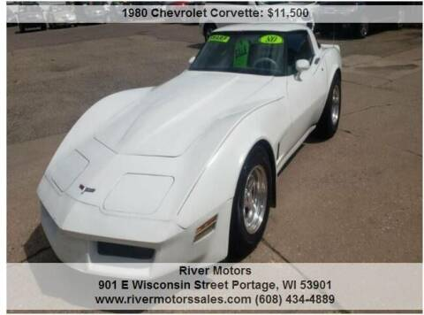 1980 Chevrolet Corvette for sale at River Motors in Portage WI