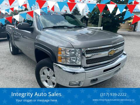 2012 Chevrolet Silverado 1500 for sale at Integrity Auto Sales in Brownsburg IN