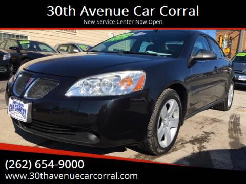 2009 Pontiac G6 for sale at 30th Avenue Car Corral in Kenosha WI