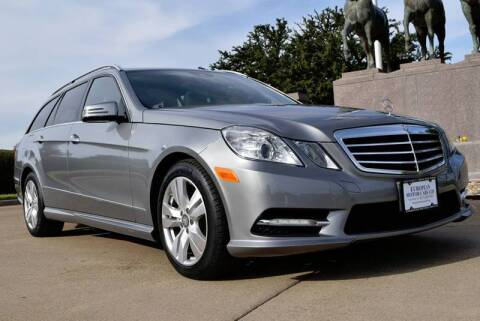 2013 Mercedes-Benz E-Class for sale at European Motor Cars LTD in Fort Worth TX