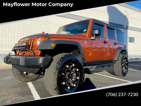 2011 Jeep Wrangler Unlimited for sale at Mayflower Motor Company in Rome GA