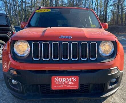2016 Jeep Renegade for sale at NORM'S USED CARS INC - Trucks By Norm's in Wiscasset ME