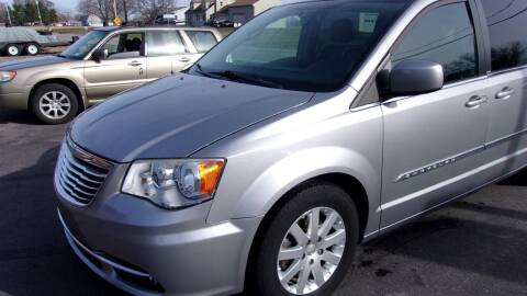 2013 Chrysler Town and Country for sale at Eagle's Wings Auto Sales in Hilton NY