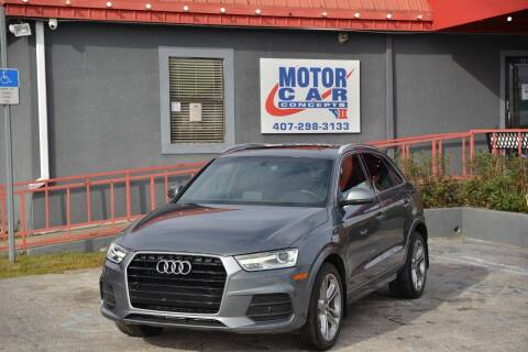 2017 Audi Q3 for sale at Motor Car Concepts II - Kirkman Location in Orlando FL