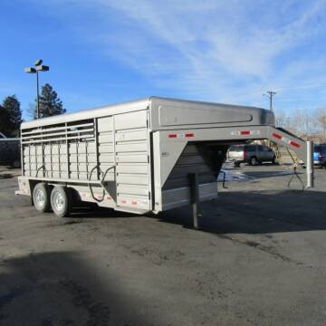2021 GR 18FT STOCK COMBO TRAILER for sale at PRIME RATE MOTORS in Sheridan WY